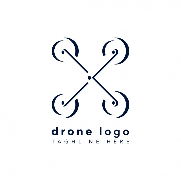 626x626 Abstract Drone Logo Vector Premium Download