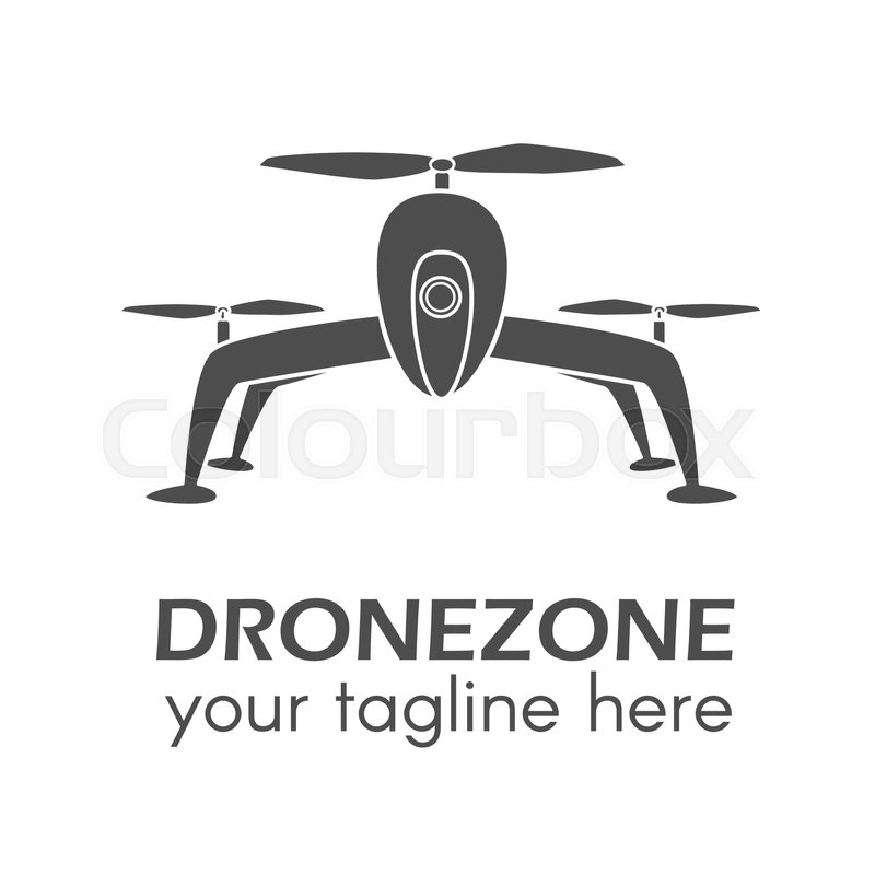 800x800 Creative Drone Logo. Perfect For Design Elements, Badges And