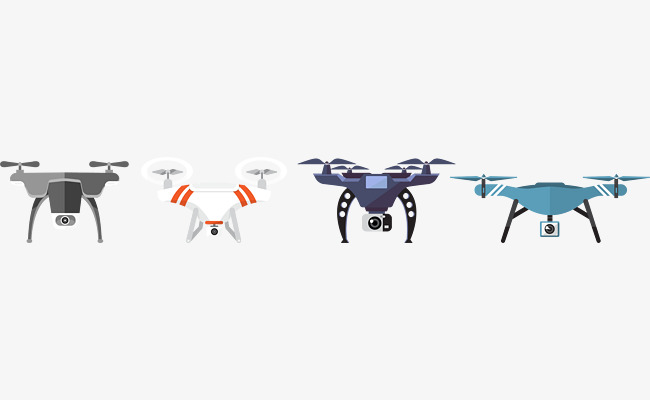 650x400 Vector Creative Flat Drone, Vector, Flat, Design Optimization Png