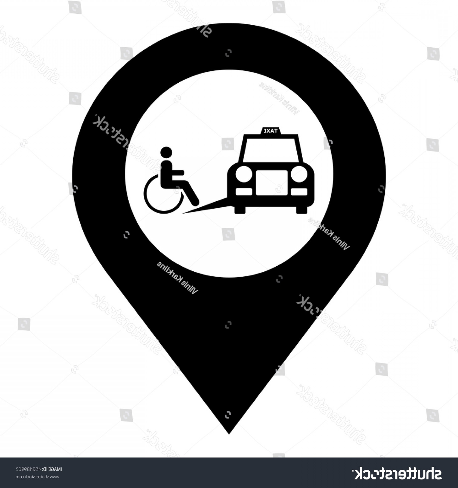 1800x1920 Accessible Taxi Vector Pin Map Icon Arenawp