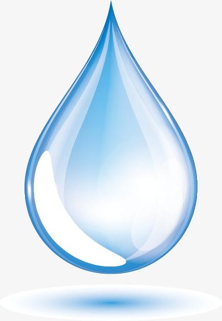 435x630 Vector Water Drop