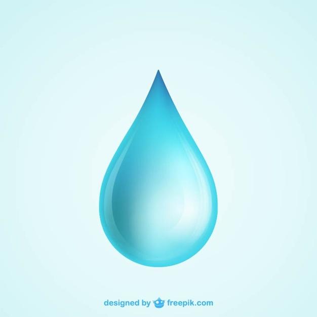 626x626 Water Drop Vector Free Download