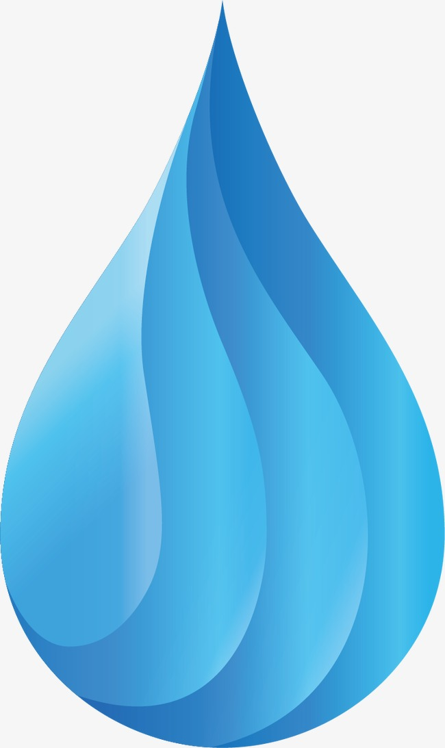 650x1093 Blue Water Drop Logo Material, Blue, Watermark, Drops Png And