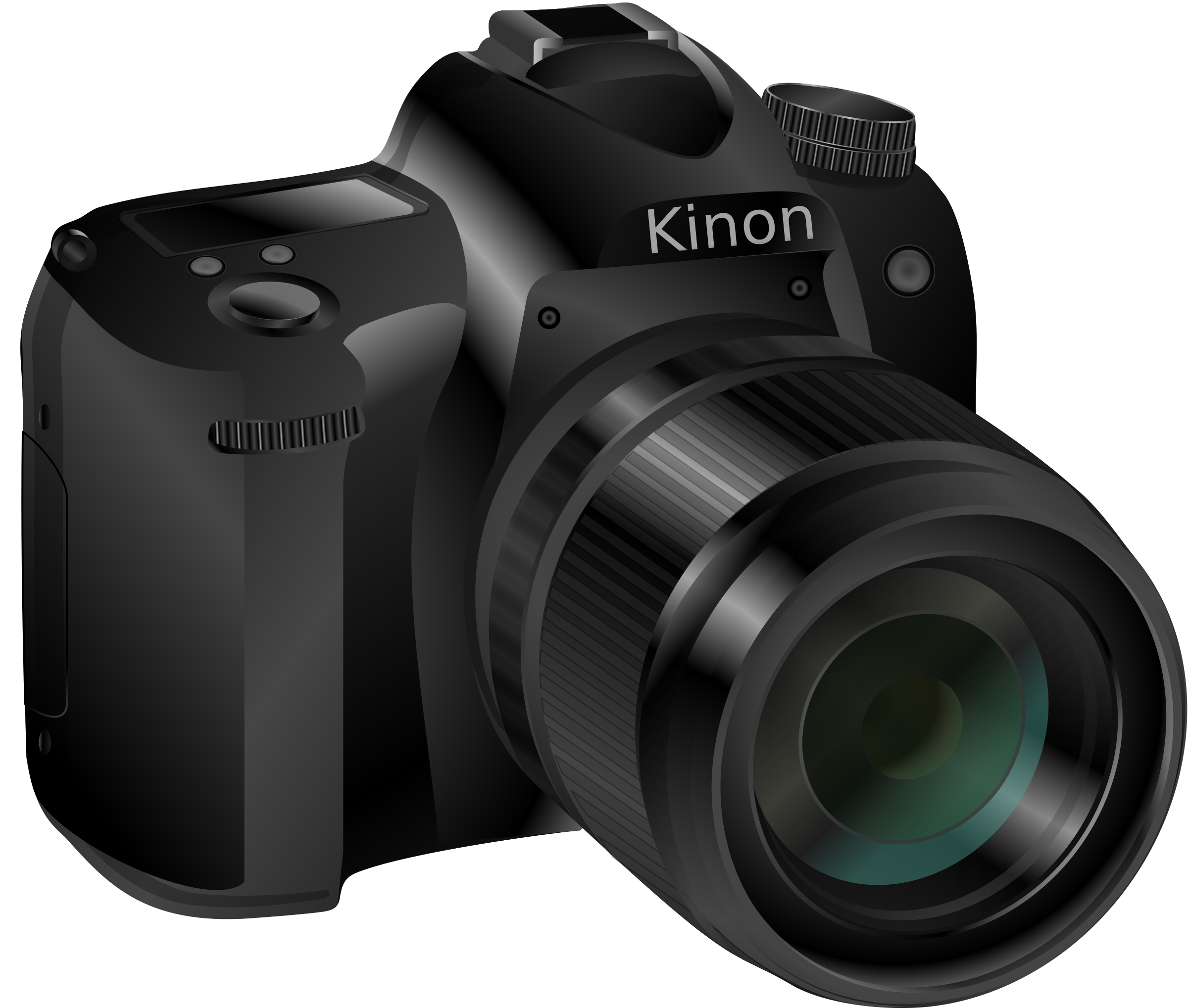 2400x2037 Dslr Camera Vector Art Image