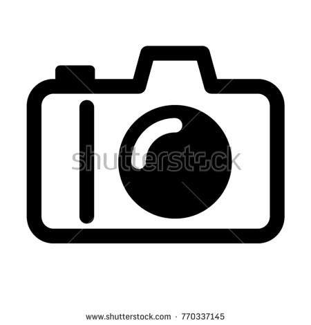 450x470 Dslr Camera Icon Vector Stock Vector 770337145 Shutterstock
