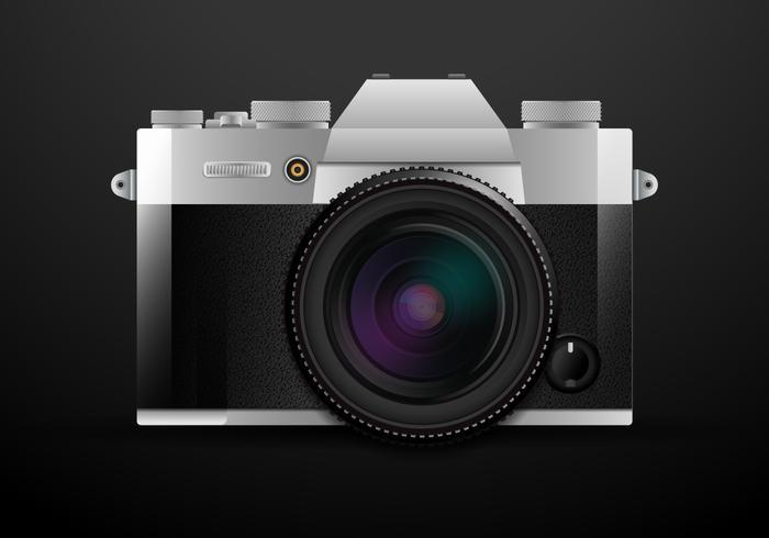 700x490 Realistic Dslr Camera