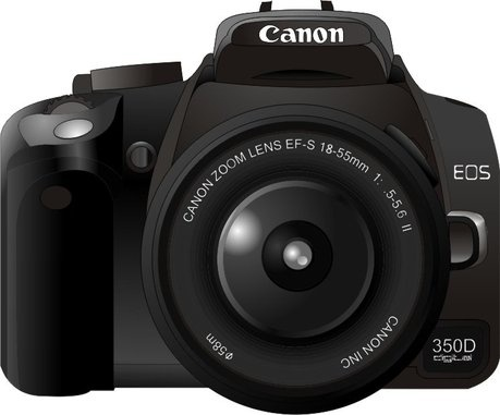 459x381 Canon350d Camera Vector Free Vector In Coreldraw Cdr ( .cdr