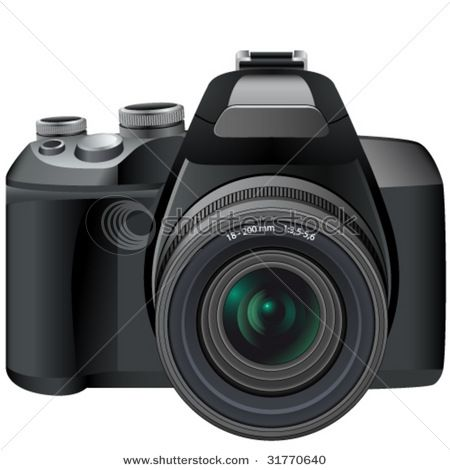 450x470 Dslr Vector. Lens Conversion App Slr Camera