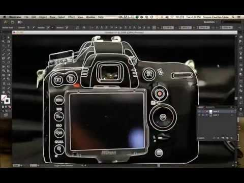 480x360 Design Kraze] Nikon Dslr Vector And Lense Speed Art