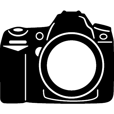 400x400 Dslr Clipart Camera Design