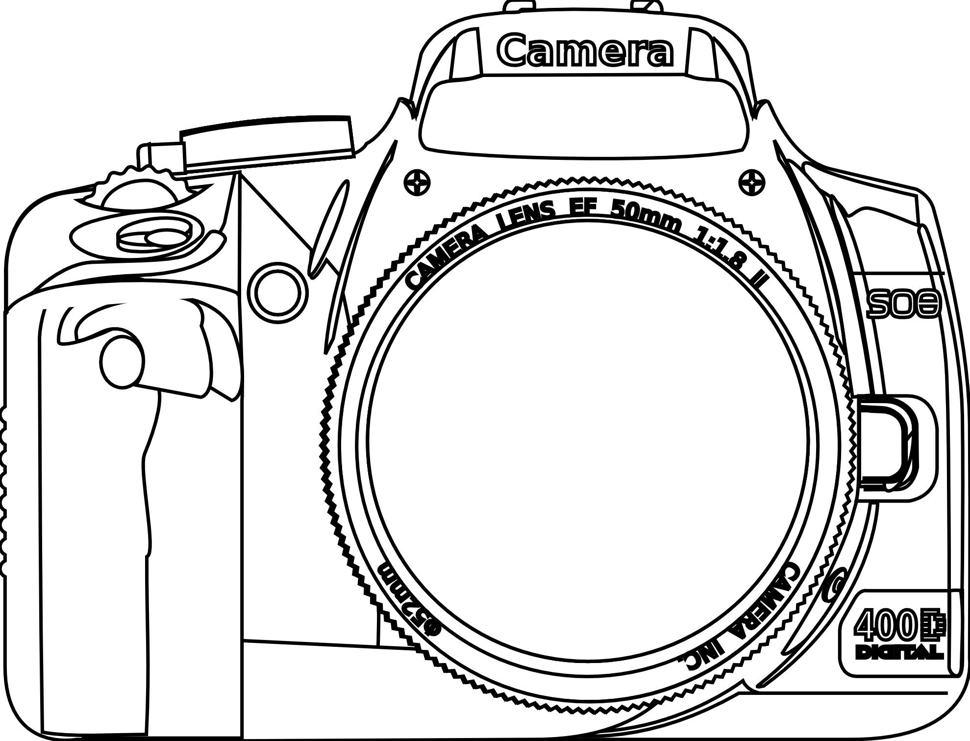 1979x1511 Image Result For Camera Dslr Vector Art Project