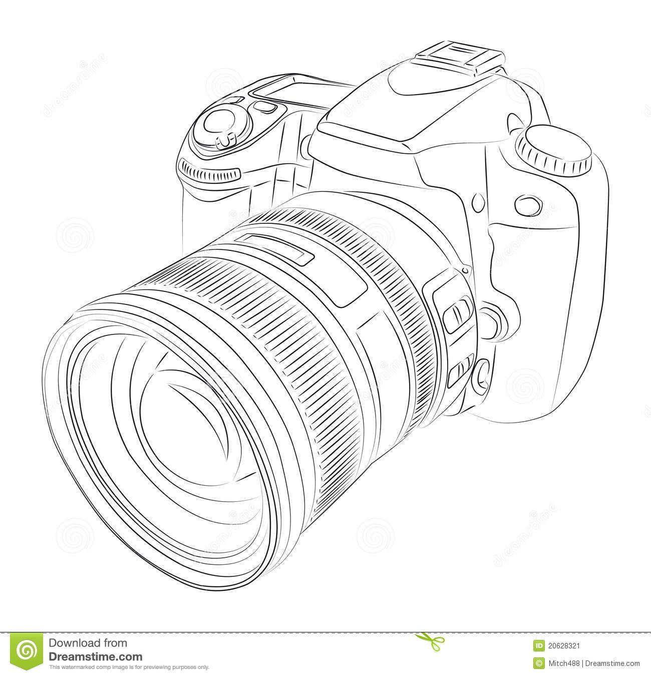 1300x1352 Image Result For Camera Dslr Vector Projects To Try