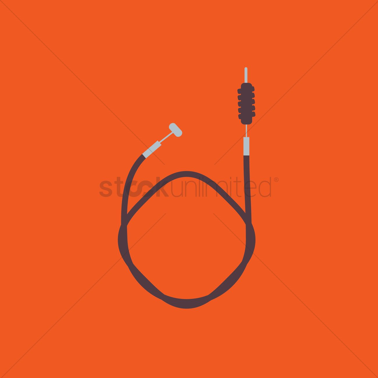 1300x1300 Shutter Release Cable For Dslr Vector Image