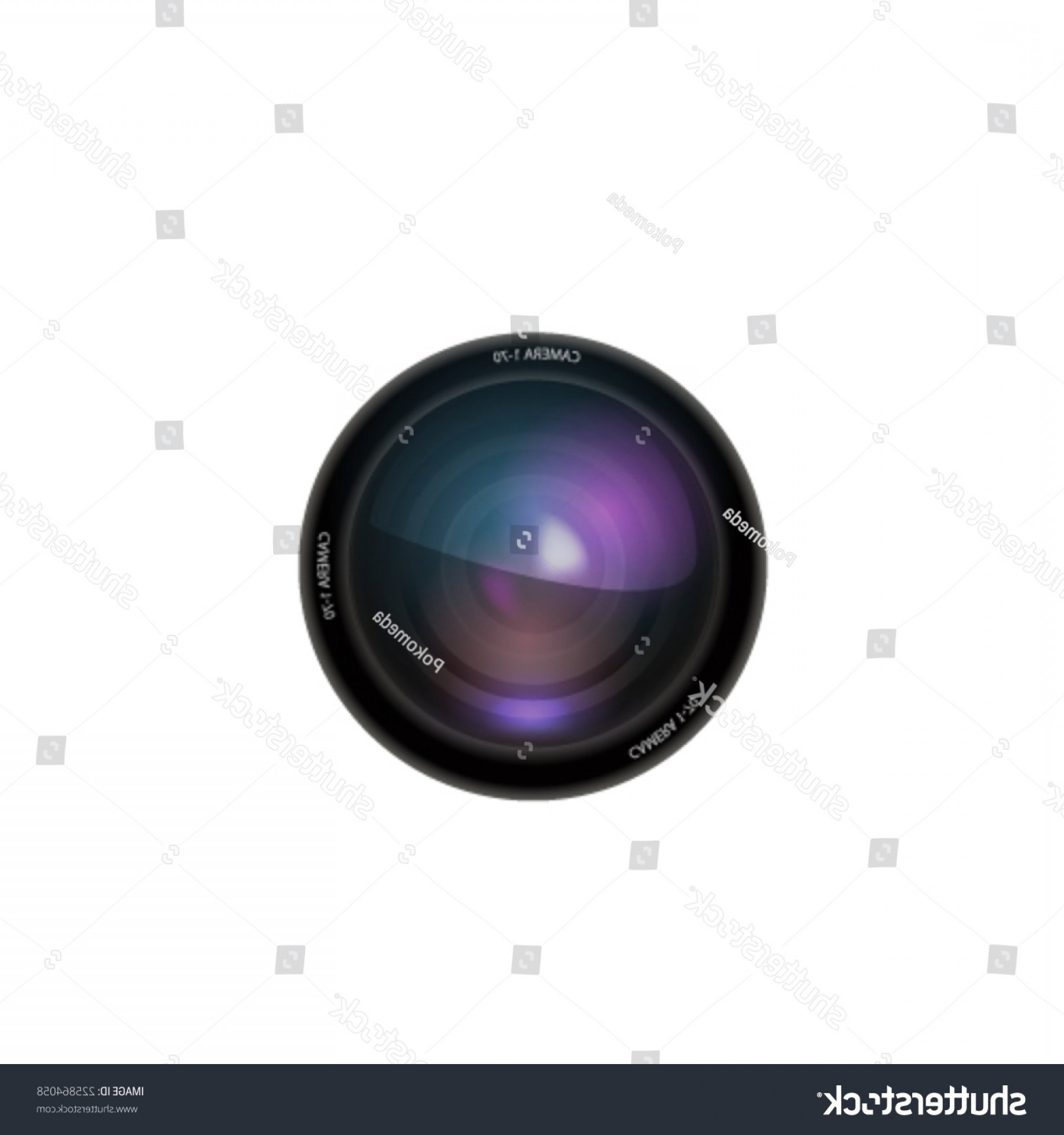 1800x1920 Camera Lens On White Background Vector Rongholland