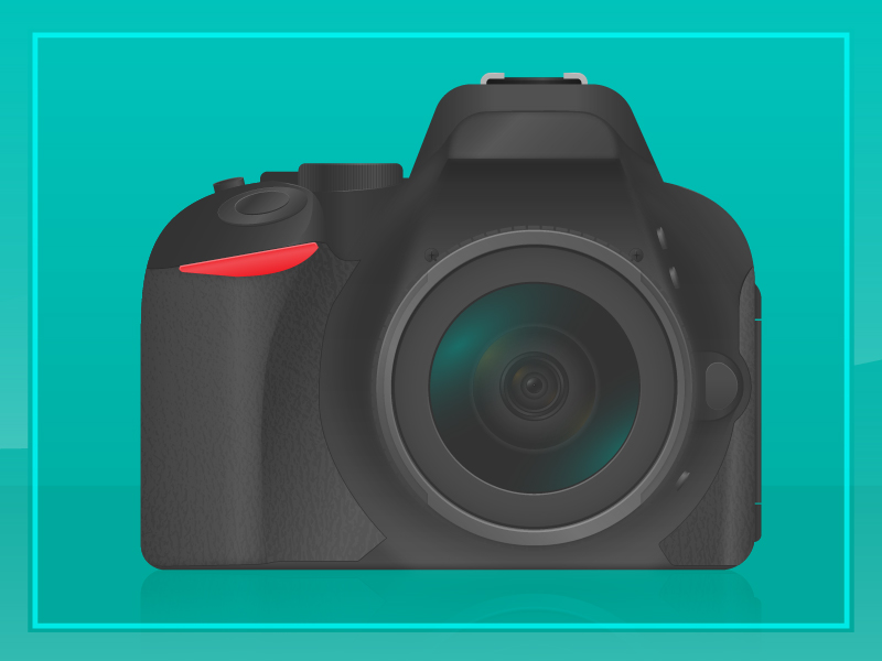 800x600 Dslr Vector By Thomas Fornarelli