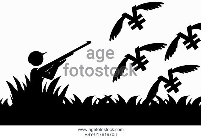 640x440 Duck Hunting Vector Stock Photos And Images Age Fotostock