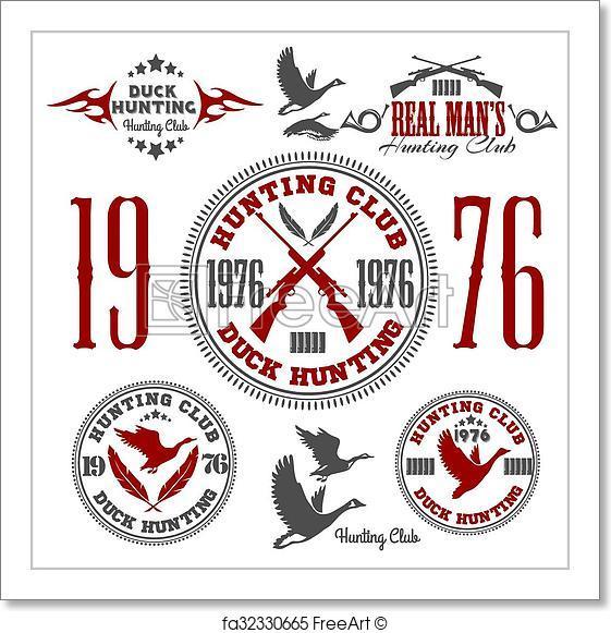 561x581 Free Art Print Of Duck Hunting