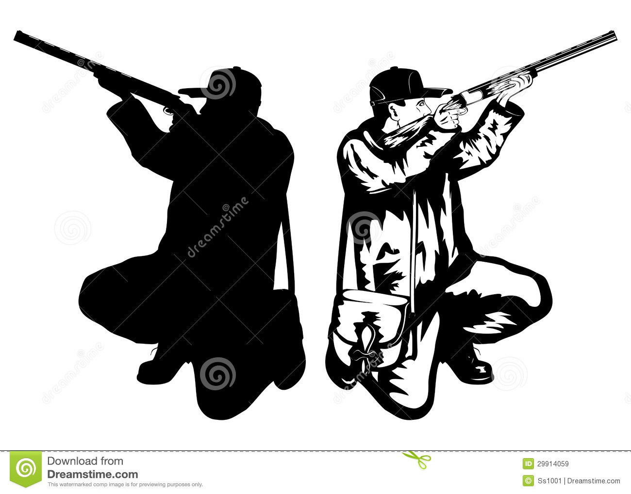 1300x1019 Hunting Clipart Vector