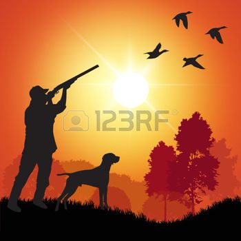 350x350 Hunting Collection Silhouettes