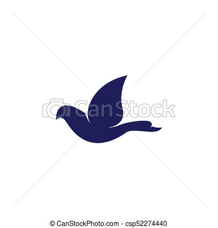 450x470 Bird And Duck Fly Logo Vector.