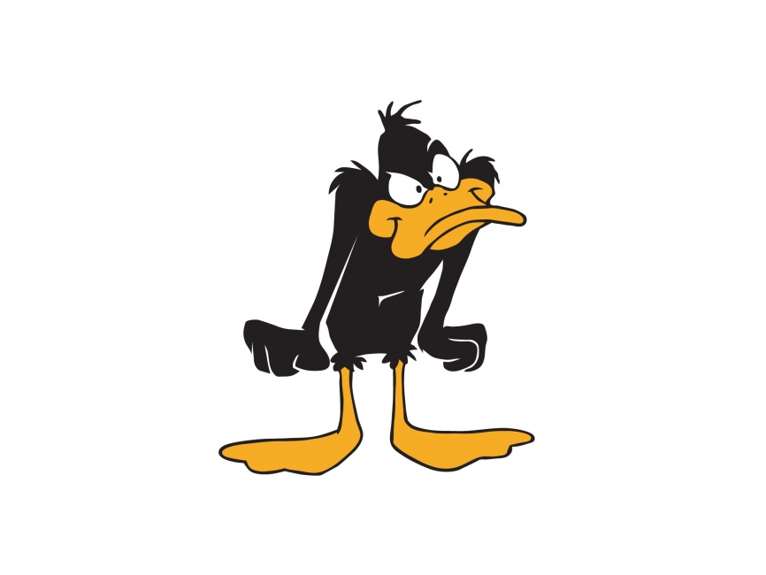 866x650 Daffy Duck Vector File