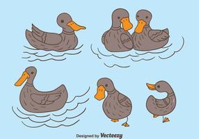 286x200 Duck Free Vector Art