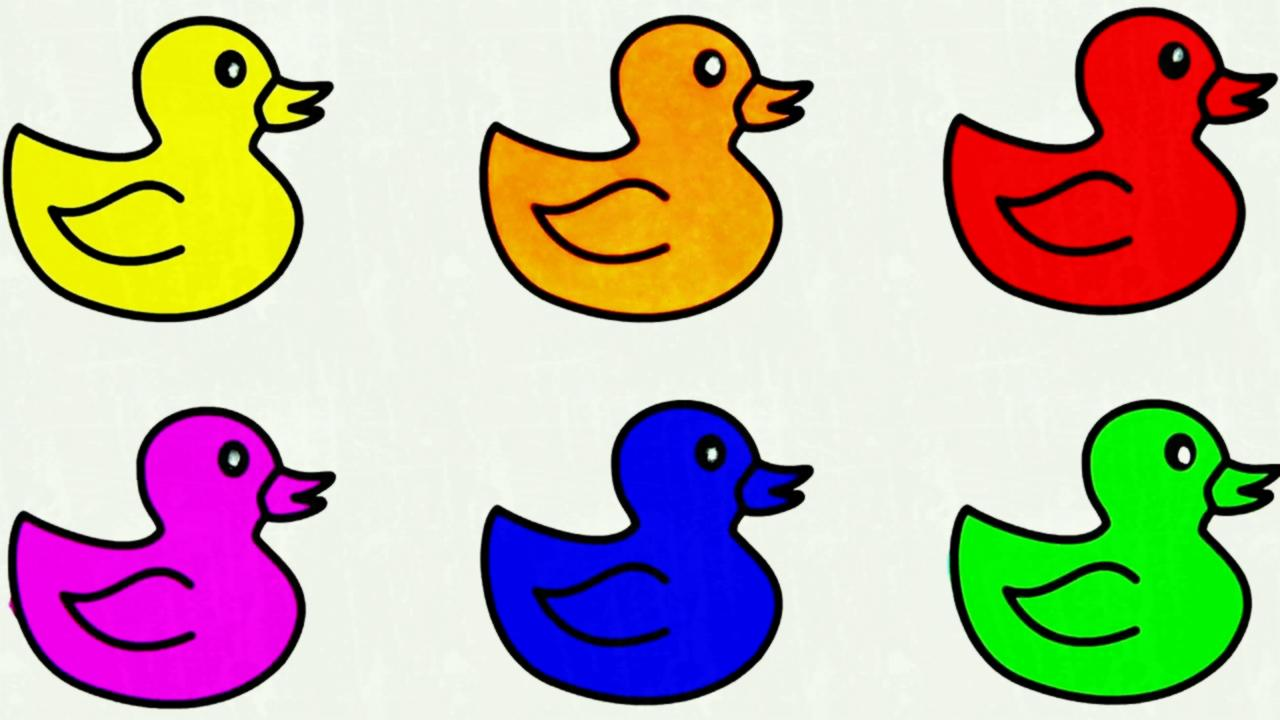 1280x720 Alone Duckling Vector Illustration Search Clipart Drawings And