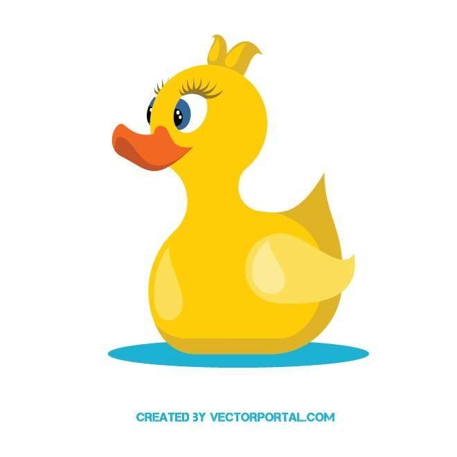660x660 Yellow Duckling Vector Animal Vectors