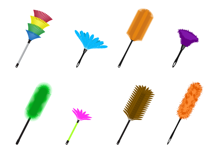 700x490 Feather Duster Vector
