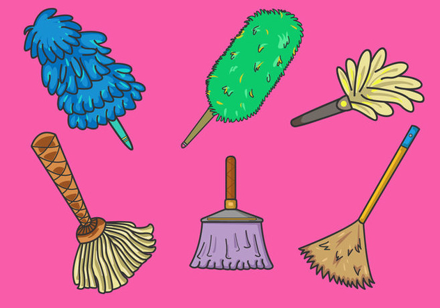 632x443 Various Feather Duster Vector Free Vector Download 365871 Cannypic