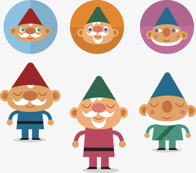 650x575 Dwarf Vector, A Fairy Tale, Cartoon Characters, Creative Cartoon