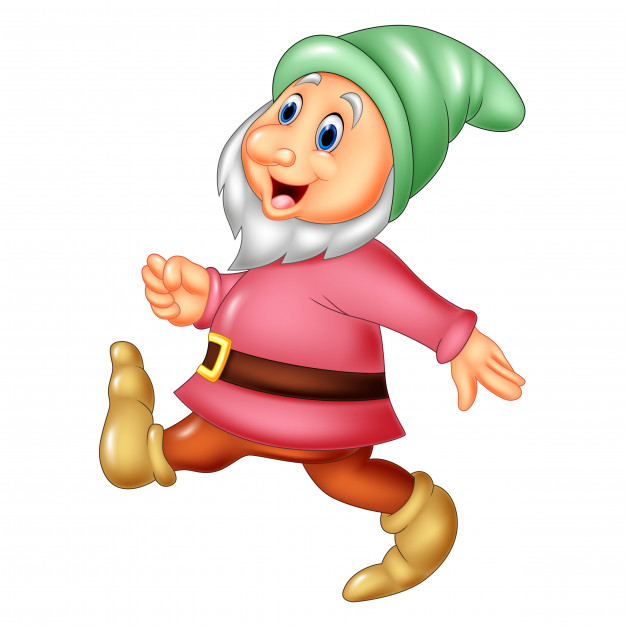 626x626 Cartoon Happy Dwarf Vector Premium Download