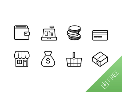 400x300 Vector Ecommerce Icons Free Vector Ecommerce Icons