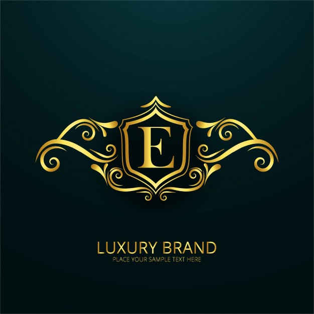 626x626 Luxury Letter E Logo Vector Free Download
