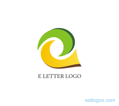 400x356 Letter E Logo Design Yellow Download Vector Logos Free Download