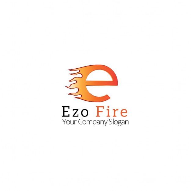 626x626 Logo Letter E In Flames Vector Free Download