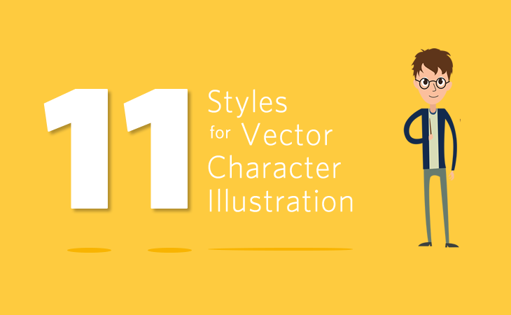 730x450 11 Vector Character Illustration Styles For E Learning