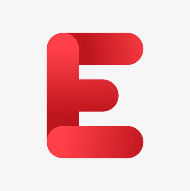 650x651 The Red Letter E, Letter Vector, Gules, Letter Png And Vector For