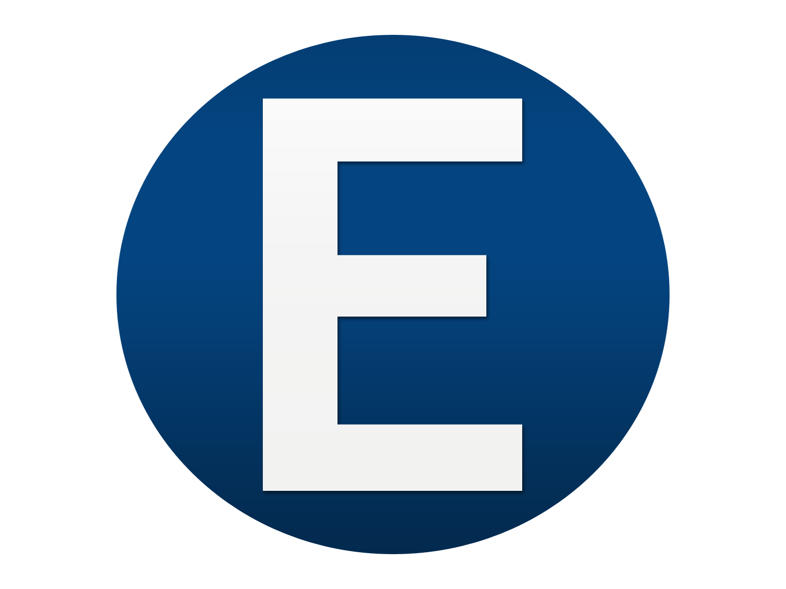 1600x1200 Blue White Letter E Logo Design Png Free To Use Images, E Logo