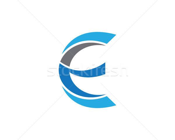 600x480 E Letter Logo Template Vector Illustration Dar Woto (Ggs