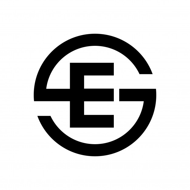 626x626 Letter S Symbol Combination With Letter E Vector Premium Download