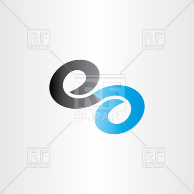 400x400 Letter E Infinity Icon Vector Image Vector Artwork Of Icons And