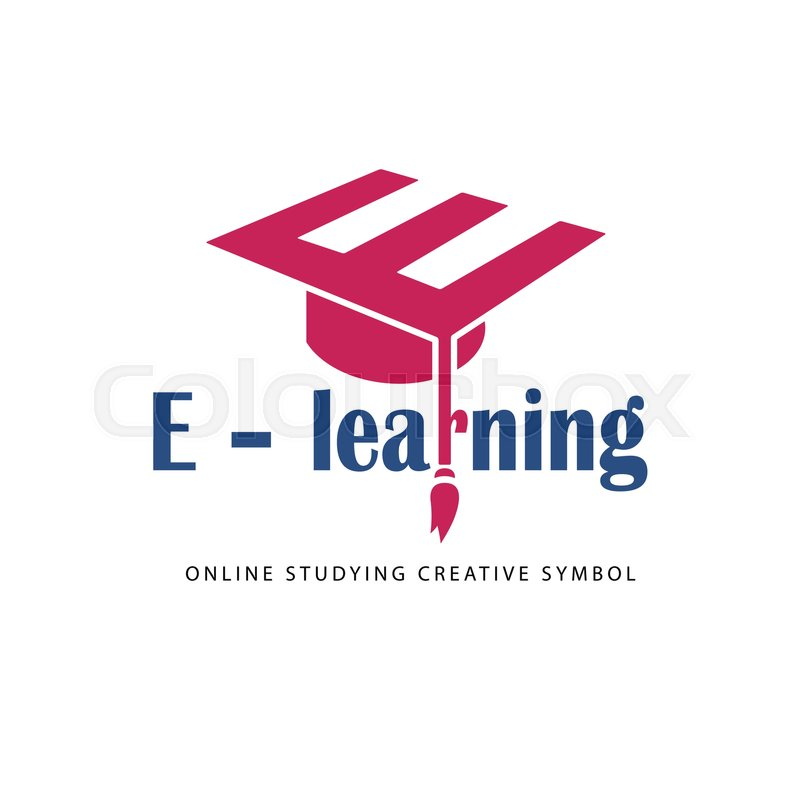 800x800 Vector Logo Template. It Can Be Used For Learning Center