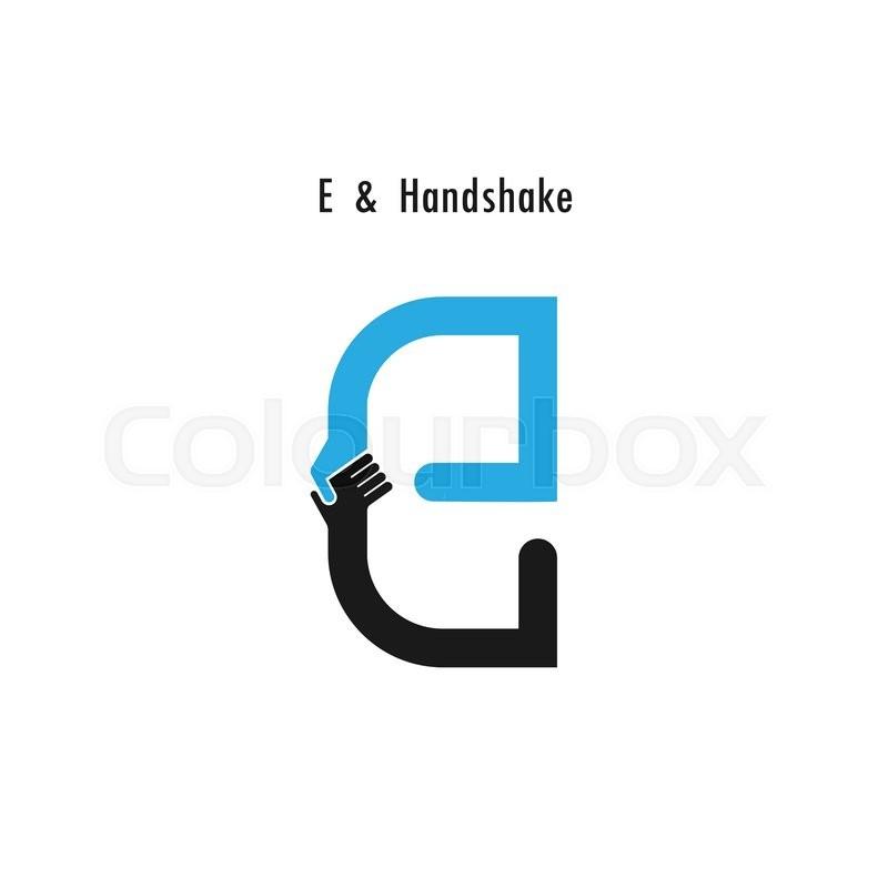 800x800 Creative E Letter Icon Abstract Logo Design Vector Template