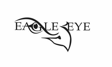474x284 Eagle Eye Logo Vector. Eagle Eye Logo Design