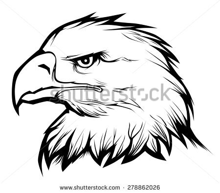 450x395 Eagle Head Clipart Black And White Vector Amp Eagle Head Clip Art