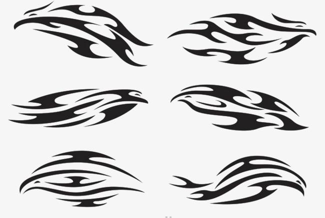 650x437 Eagle Tribal Logo Vector, Eagle Flag, Tribal Eagle, Vector Logo