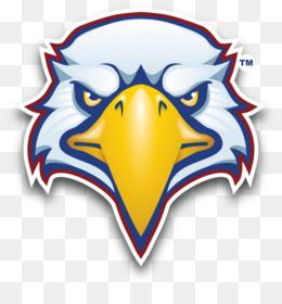 260x280 Eagle Mascot Vector Clipart