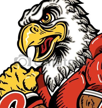423x450 Vector Art Clipart Eagle Mascot