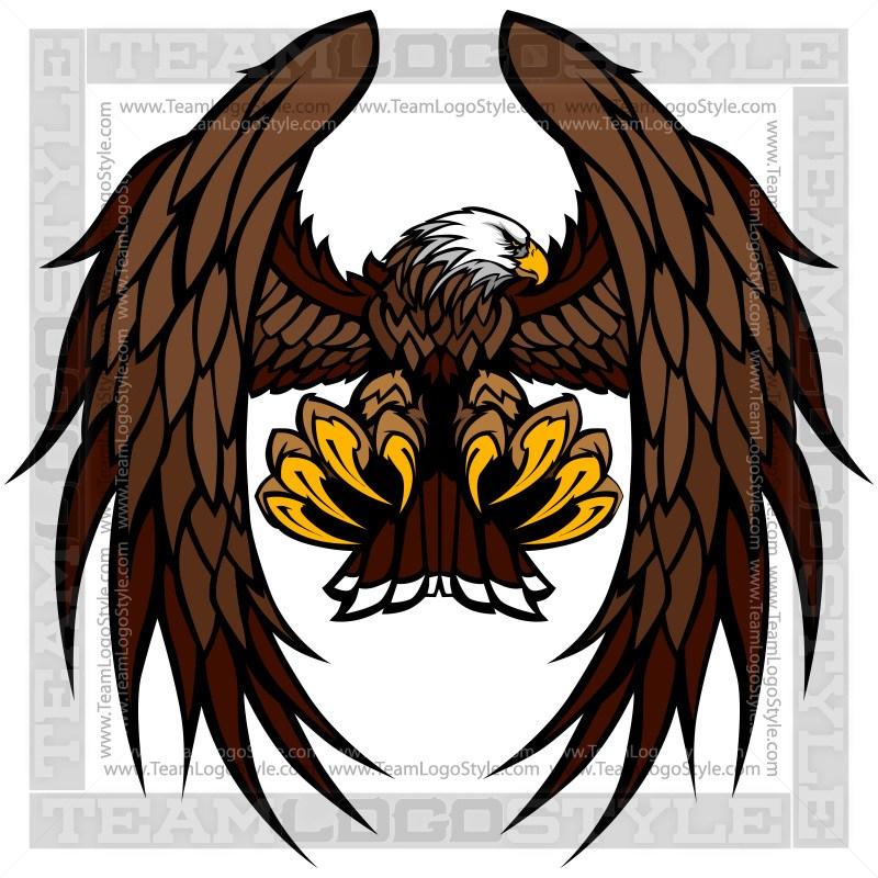 800x800 Vector Eagle Mascot